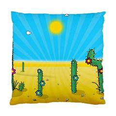 Cactus Cushion Case (single Sided)