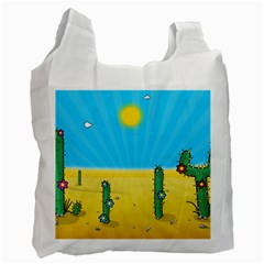 Cactus Recycle Bag (One Side)