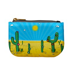 Cactus Coin Change Purse