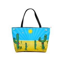 Cactus Large Shoulder Bag