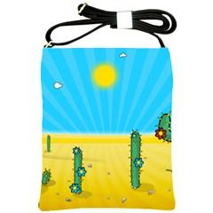 Cactus Shoulder Sling Bag
