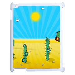 Cactus Apple Ipad 2 Case (white)