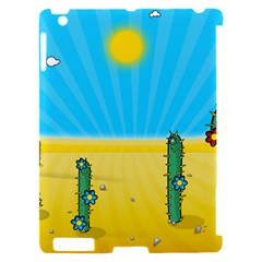 Cactus Apple iPad 2 Hardshell Case (Compatible with Smart Cover)