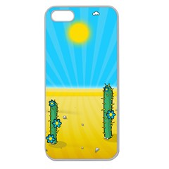 Cactus Apple Seamless Iphone 5 Case (clear)
