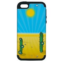 Cactus Apple iPhone 5 Hardshell Case (PC+Silicone)
