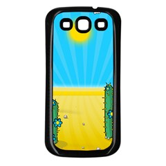 Cactus Samsung Galaxy S3 Back Case (Black)