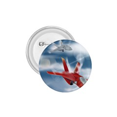 America Jet Fighter Air Force 1 75  Button