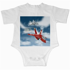 America Jet Fighter Air Force Infant Bodysuit
