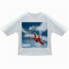 America Jet fighter Air Force Baby T-shirt