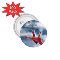 America Jet fighter Air Force 1.75  Button (100 pack)