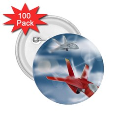 America Jet fighter Air Force 2.25  Button (100 pack)