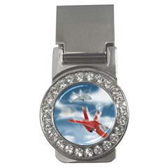America Jet fighter Air Force Money Clip (CZ)
