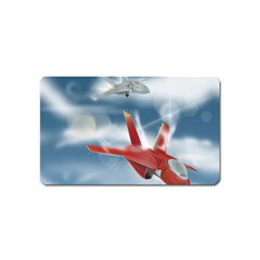 America Jet fighter Air Force Magnet (Name Card)