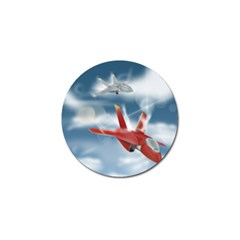 America Jet fighter Air Force Golf Ball Marker 10 Pack