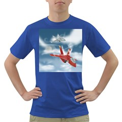 America Jet fighter Air Force Men s T-shirt (Colored)