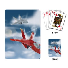 America Jet fighter Air Force Playing Cards Single Design