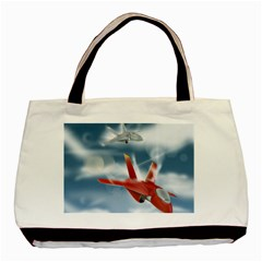 America Jet fighter Air Force Classic Tote Bag