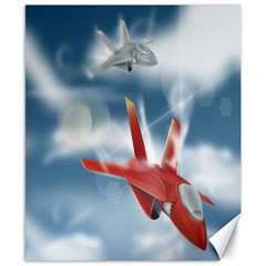America Jet fighter Air Force Canvas 8  x 10  (Unframed)