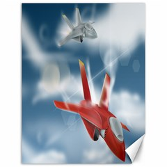 America Jet fighter Air Force Canvas 12  x 16  (Unframed)