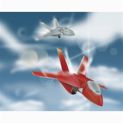 America Jet fighter Air Force Canvas 16  x 20  (Unframed)