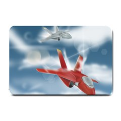 America Jet Fighter Air Force Small Door Mat