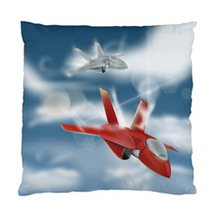 America Jet fighter Air Force Cushion Case (Two Sided)
