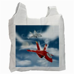 America Jet Fighter Air Force Recycle Bag (two Sides)