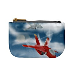 America Jet Fighter Air Force Coin Change Purse