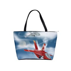 America Jet fighter Air Force Large Shoulder Bag