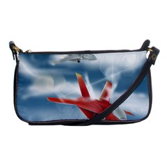 America Jet fighter Air Force Evening Bag