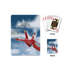 America Jet fighter Air Force Playing Cards (Mini)