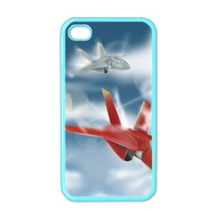 America Jet Fighter Air Force Apple Iphone 4 Case (color)