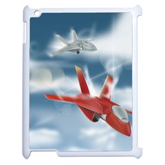 America Jet fighter Air Force Apple iPad 2 Case (White)