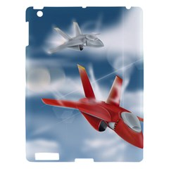 America Jet fighter Air Force Apple iPad 3/4 Hardshell Case