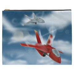 America Jet fighter Air Force Cosmetic Bag (XXXL)
