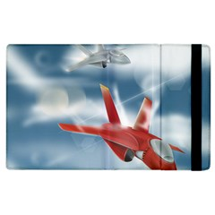 America Jet Fighter Air Force Apple Ipad 3/4 Flip Case