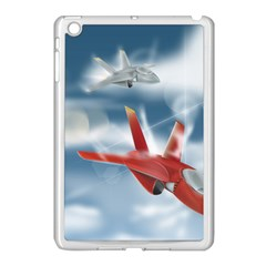 America Jet fighter Air Force Apple iPad Mini Case (White)