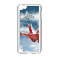 America Jet fighter Air Force Apple iPod Touch 5 Case (White)