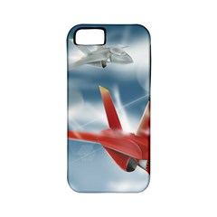 America Jet fighter Air Force Apple iPhone 5 Classic Hardshell Case (PC+Silicone)