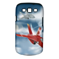 America Jet fighter Air Force Samsung Galaxy S III Classic Hardshell Case (PC+Silicone)