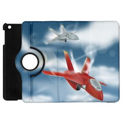 America Jet fighter Air Force Apple iPad Mini Flip 360 Case