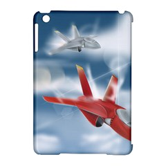 America Jet fighter Air Force Apple iPad Mini Hardshell Case (Compatible with Smart Cover)
