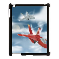 America Jet fighter Air Force Apple iPad 3/4 Case (Black)