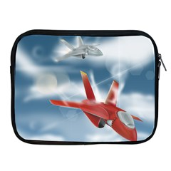 America Jet fighter Air Force Apple iPad Zippered Sleeve