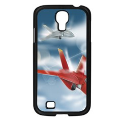 America Jet fighter Air Force Samsung Galaxy S4 I9500/ I9505 Case (Black)