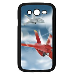 America Jet Fighter Air Force Samsung Galaxy Grand Duos I9082 Case (black)