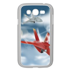 America Jet fighter Air Force Samsung Galaxy Grand DUOS I9082 Case (White)
