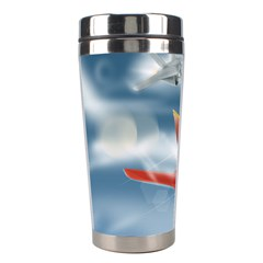 America Jet fighter Air Force Stainless Steel Travel Tumbler