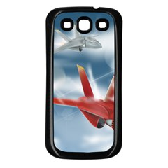 America Jet Fighter Air Force Samsung Galaxy S3 Back Case (black)