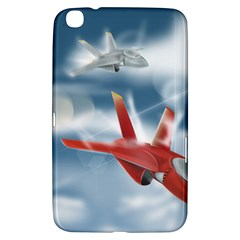 America Jet fighter Air Force Samsung Galaxy Tab 3 (8 ) T3100 Hardshell Case